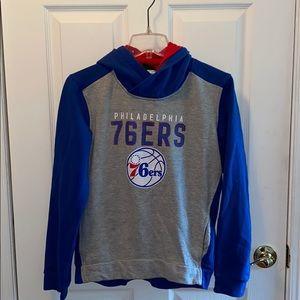 Philadelphia 76ers boys hoodie